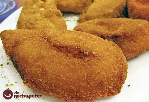 Mejillones rellenos. Deliciosa masa de bechamel con mejillones, una de las tapas más famosas de España. Receta paso a paso con fotos de los ingredientes y de la elaboración. Trucos y consejos para hacer Tigres de rechupete.