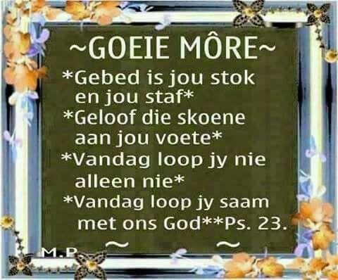 Goeie More...