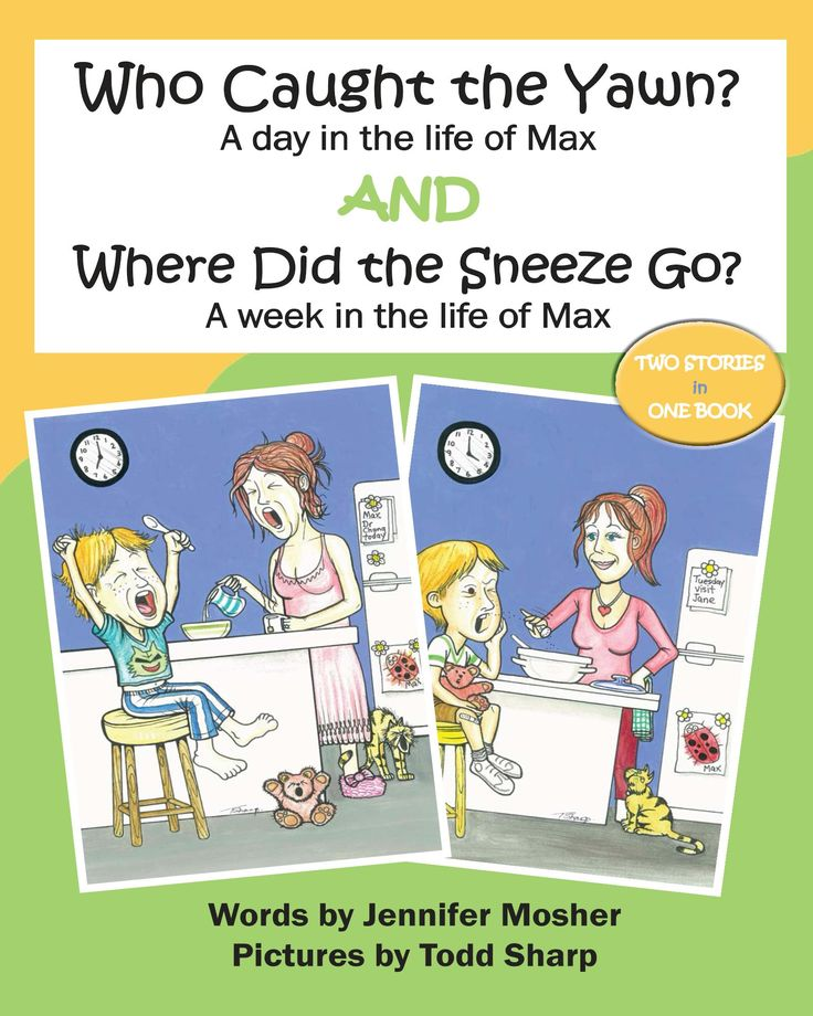 Online Blue Mountains - Who Caught the Yawn? and Where Did the Sneeze Go? - storybook for young children. Australian Author. Kids books