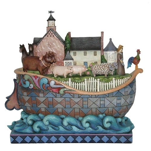 Built On Faith: Faith Williamsburg Noah, Ark Figurines, Artistjim Shore, Lovejim Shore, Collection Jim, Noah Ark, Love Jim Shore, Faithwilliamsburg Noah, Artists Jim