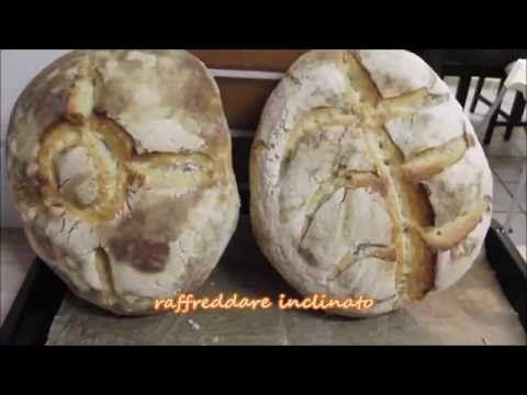 PANE A LIEVITAZIONE NATURALE || LI.CO.LI - YouTube
