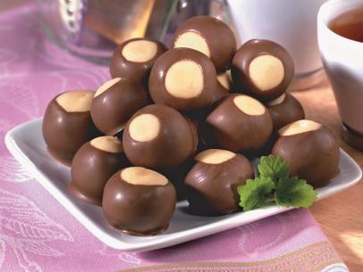 Get Crunchy Toffee Buckeyes Recipe from Food Network