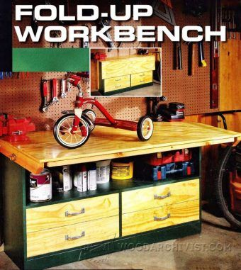 Adjustable Height Workbench Plans - Workshop Solutions Plans, Tips and ...