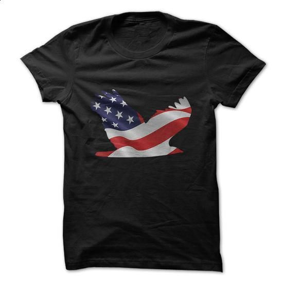 American Flag Eagle - #funny tshirts #black shirts. ORDER HERE => https://www.sunfrog.com/Political/American-Flag-Eagle.html?60505