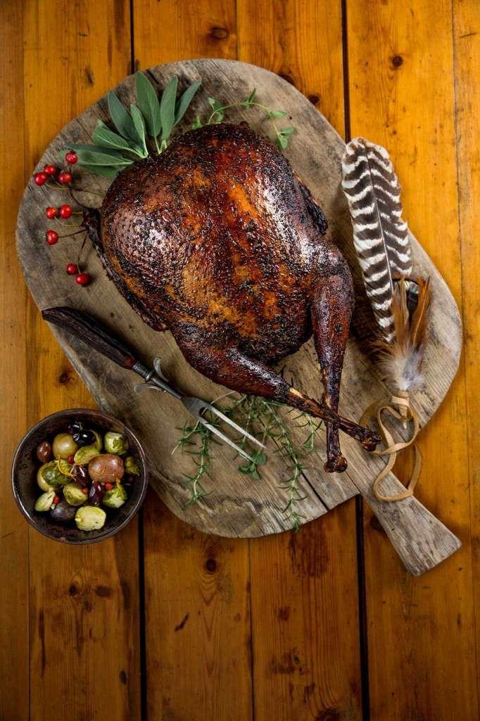 Smoked Spatchcocked Turkey Photo: Michael Ciaglo, Staff / © 2016  Houston Chronicle