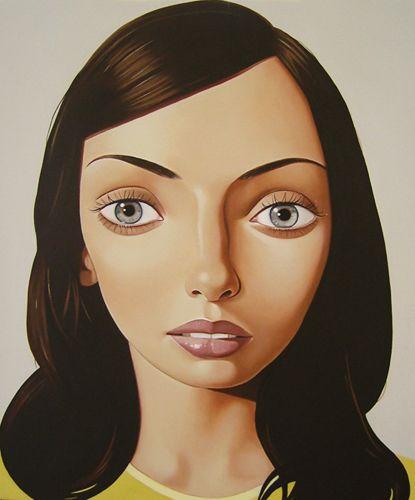 Portrait by New Zealand artist Peter Stichbury