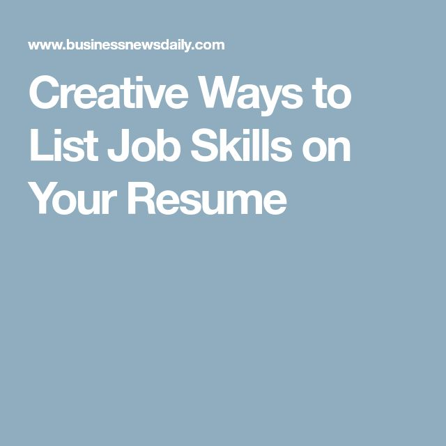The 25+ best Skills for resume ideas on Pinterest Accounting - list skills for resume