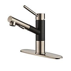 Geo Axis Single Lever Pull-Out Kitchen Faucet