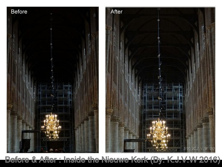 https://flic.kr/p/FzvPWK | Before & After 12 | Inside the Nieuwe Kerk   (Feel free to give feedback, it will help to improve my work)  After Version: www.flickr.com/photos/116827835@N07/25758075230/in/photos...