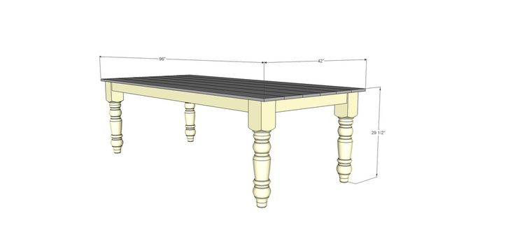 Top 25 Ideas About Free Dining Tables Plans On Pinterest