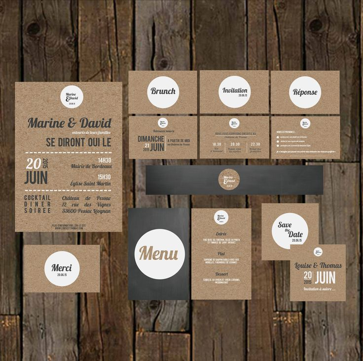 17 meilleures id es propos de cartes de menu de mariage. Black Bedroom Furniture Sets. Home Design Ideas