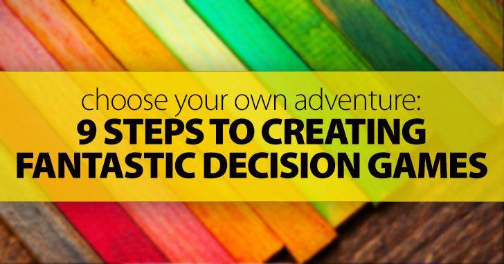 9 Steps to Creating A Fantastic ESL Decision Game