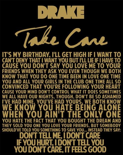 Drake – Take Care Lyrics | Genius Lyrics