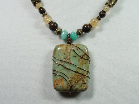 Hey, I found this really awesome Etsy listing at https://www.etsy.com/listing/219565764/african-green-opal-citrine-bronzite-and