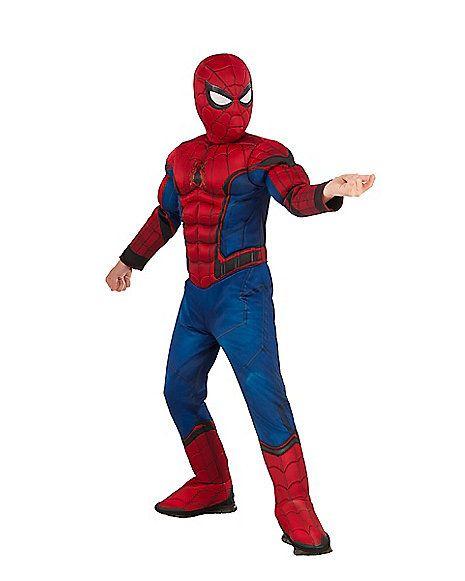 Kids Spiderman Costume Deluxe – Marvel Civil War - Spirithalloween.com