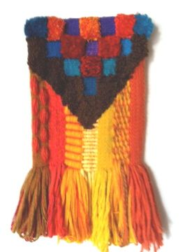 Another piece woven in Peru