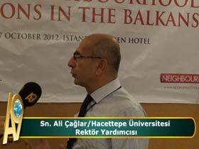 Ali Çağlar / Hacettepe Üniversitesi Rektör Yardımcısı Video