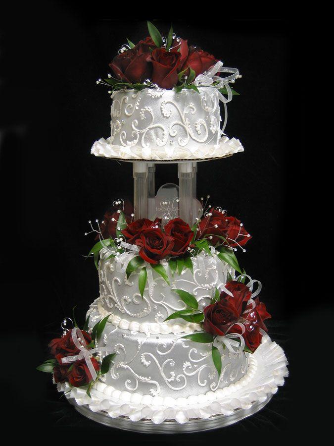 Wedding Cake -Silver Celebrations