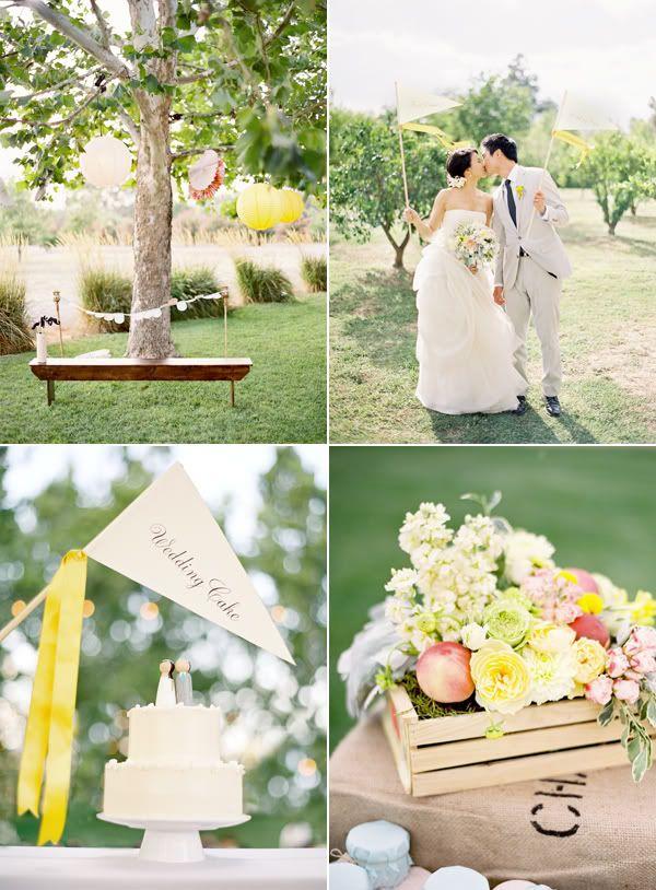 fun whimsical  village fete #wedding