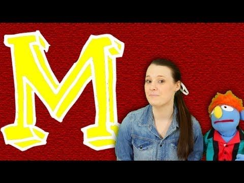 ▶ Phonics: The Letter M - YouTube - Nellie and Ned - lots of great letter videos!