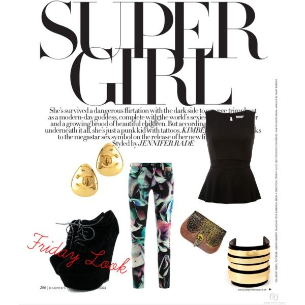 """""""Friday Look"""" by marrakeshc on Polyvore"""