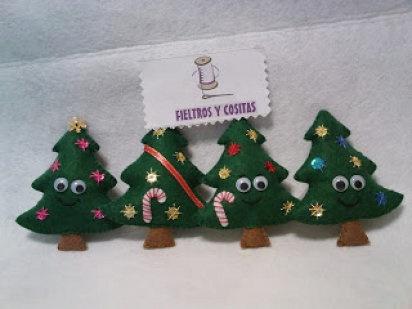 Adornos en fieltro para Navidad   Aprender manualidades es facilisimo.com
