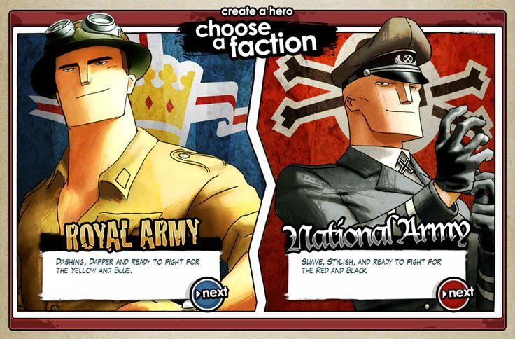 Battlefield Heroes - factions.