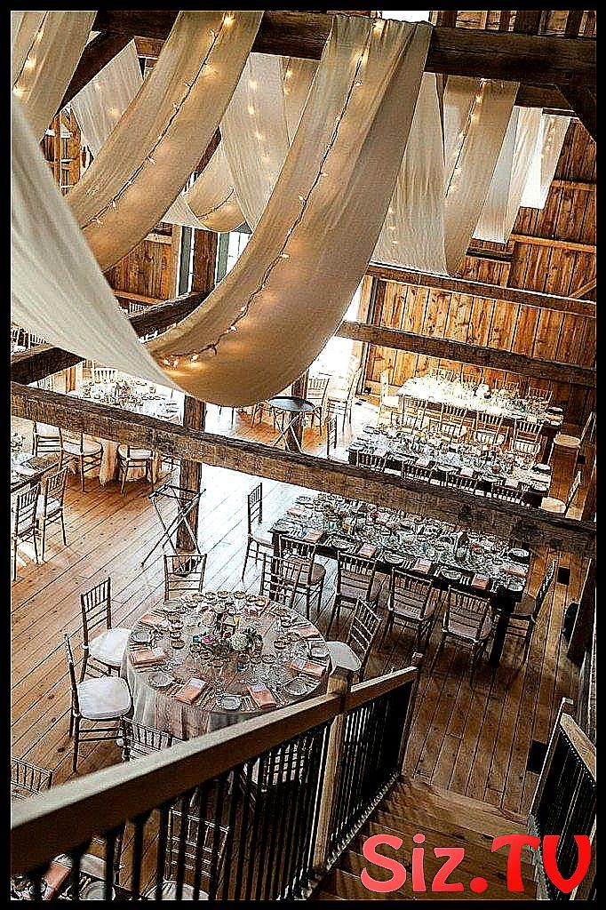 The Super Low-Budget Wedding Reception waow plac #barn #champêtre #d39excepti…