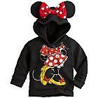 Minnie Mouse Ear Hoodie for Girls | Fleece & Outerwear | Disney Store