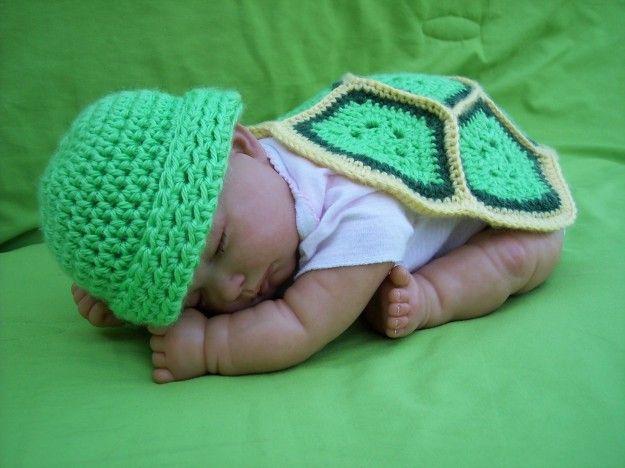 Copertine a maglia per neonati