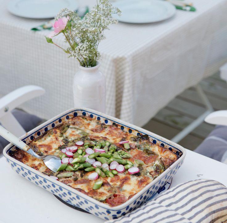 lunchtips systrarna von Sydows sommar-omelett