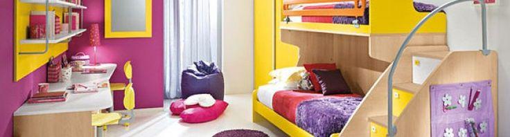 Tips Memilih Warna Kamar Tidur Anak Yang Nyaman. Info selengkapnya cek di http://iderumah.com/  #rumahminimalis #desaininterior #desainrumah #kamartidur