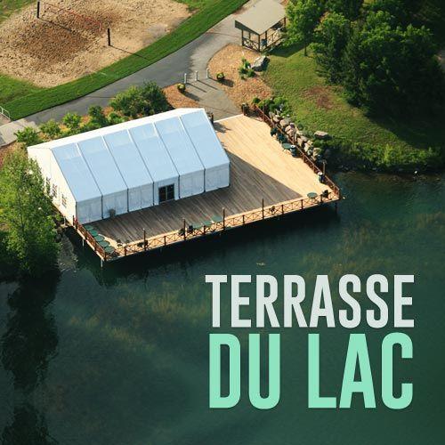 Pour un événement réussi, la Terrasse du Lac au parc Jean-Drapeau permet l'accès à la plage de Montréal, un terrain de volley-ball sur sable, un grand chapiteau et des embarcations nautiques!
