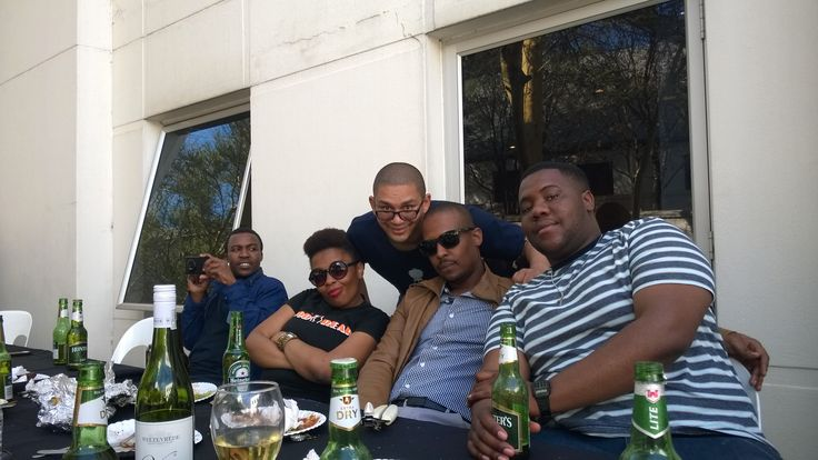 The pic while taking a pic, pic! #TeamBuilding #BraaiDay
