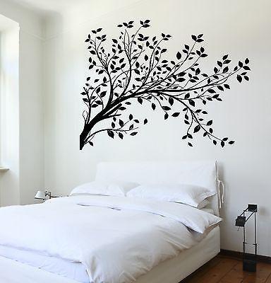 Wall Decal Tree Branch Cool Art For Bedroom Vinyl Sticker (z3621)