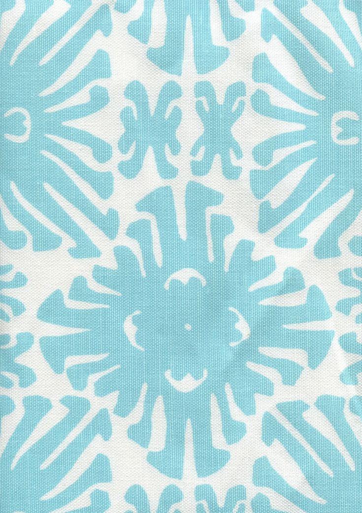 Quadrille China Seas Sigourney Small Scale Fabric Royal