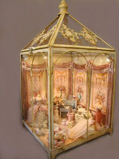 Vintage way to do a doll house room- by Bridget McCarty's