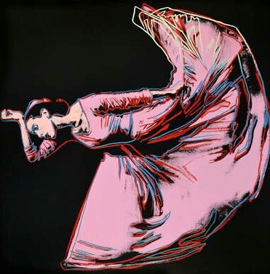 Andy Warhol ( Artist ) , Martha Graham :Letter to the world ( The Kick) , 1986