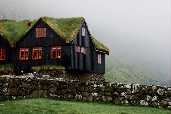 Faroe Islands: De Gein, Black House, Little House, Peace Places, Bays, Boathouse, Green Roof, Felix Vans, Faroe Islands