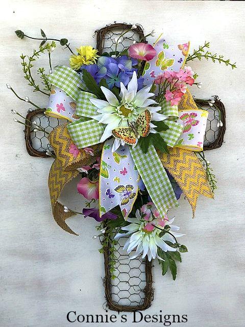 25 Best Ideas About Cross Wreath On Pinterest Easter