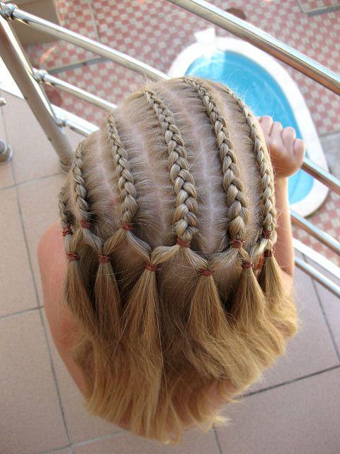 Little girls hairdo