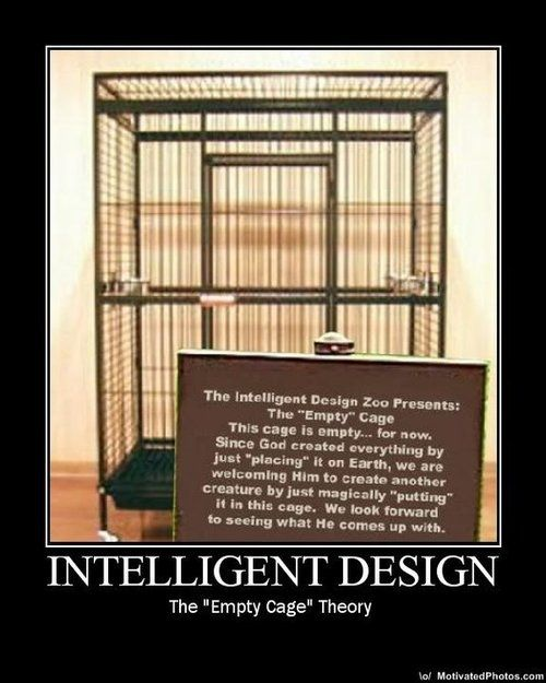 """Can """"god"""" pass the cage test? Waiting... :P - http://holesinthefoam.us/2013/10/can-god-pass-cage-test-waiting-p/"""