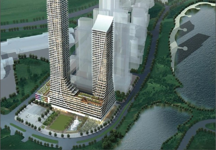 Waterfront living @ Humber Bay Shore,  Two Towers, 70 Floors & 45 Floors   http://Bit.Ly/CallDave