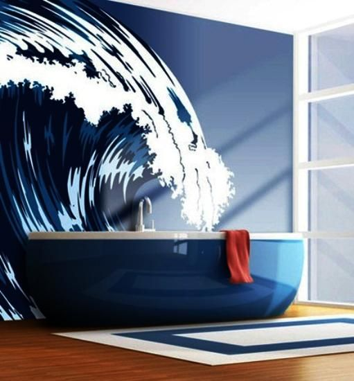 30 Modern Bathroom Decor Ideas Blue Bathroom Colors And Nautical Decor Themes