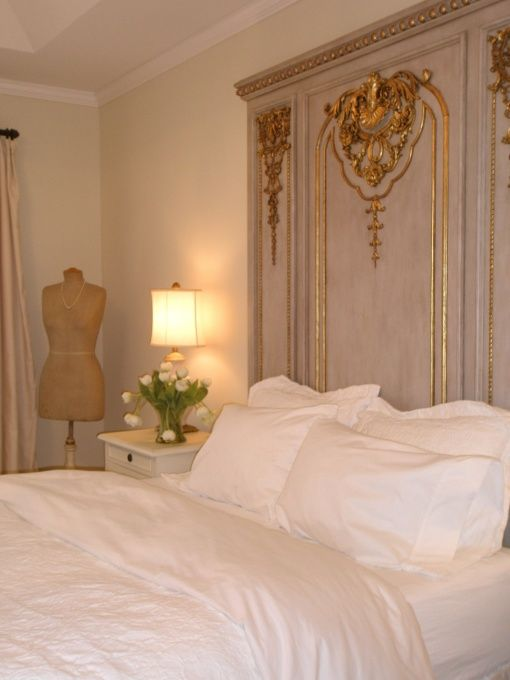 Paris Flea Market Bedroom, A bedroom thats shabby chic with a European edge.  Like a Paris Flea Market its informal and elegant., When the h...