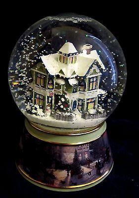 75 Snow Globes Images Pinterest Water Thomas Kinkade Light Musical