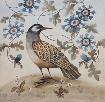 Read an interview with artist Harriet Bane about her beautiful bird and wildlife paintings