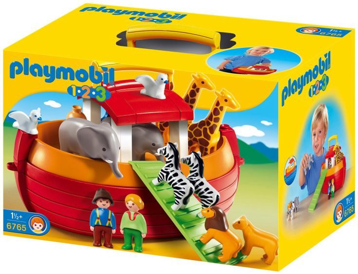 Two by two! Look at this precious Noah's Ark set by Playmobil 1-2-3! We have a full selection of Playmobil 1-2-3 as well regular Playmobil for the older ones!