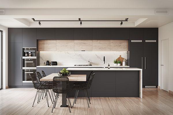 oltre 25 fantastiche idee su cucine bianche moderne su pinterest progettazione di una cucina. Black Bedroom Furniture Sets. Home Design Ideas