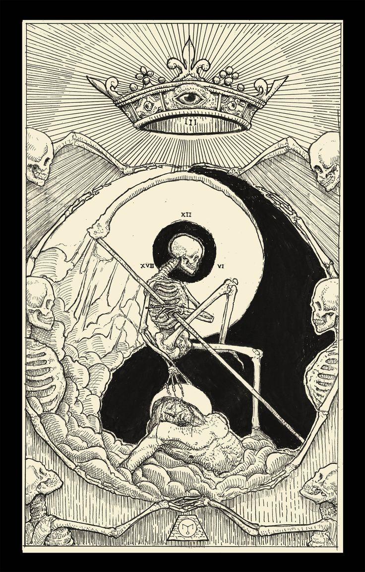 Death ( Tarot Card ) by http://erikemiranda.deviantart.com on @DeviantArt
